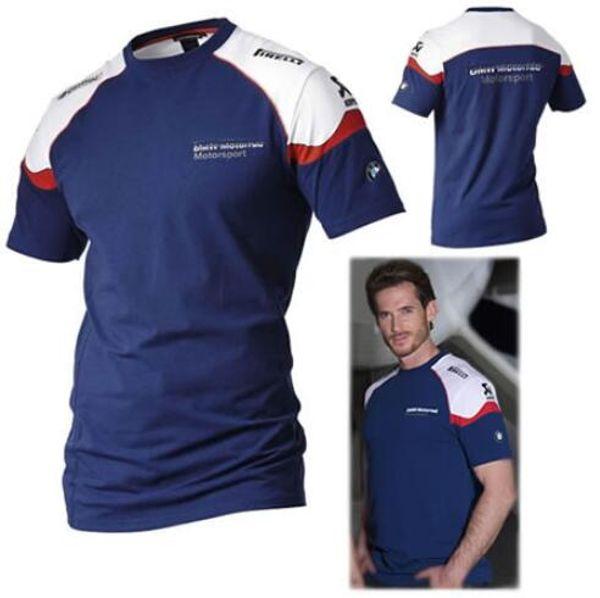 Men/'s Printed T Shirt Moto Tees Top Biker girocollo maniche corte da corsa