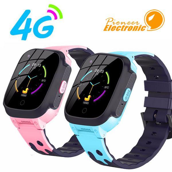 T8 Smart Watch for Children Waterproof SOS Antil-lost Kids Smartwatch 4G SIM Card Clock Call Location Tracker Baby Smart Watches