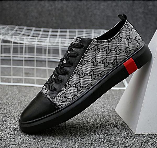 Zapatos casuales de moda de verano nuevos zapatos de tendencia de la zapatilla de deporte de la versión coreana zapatos de cuero de los hombres de moda, zapatos casuales, zapatos de senderismo