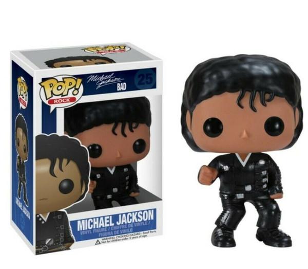 Funko Pop Michael Jackson Billie Jean плохо # 25 Винил рис игрушка кукла