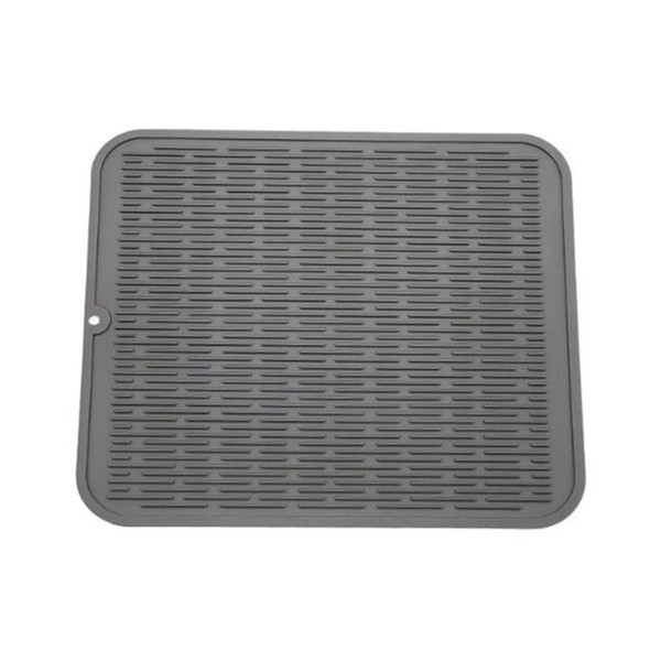 2019 40*50CM Large Multifunctional Silicone Drain Pad Kitchen Drying Mat  Silicone Dish Drying Mat Table Dinnerware Set From Hobarte, $22.3 | ...