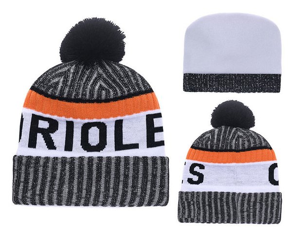 Wholesale-winter Beanie Knitted Hats Sports Teams baseball football basketball beanies caps Women Men winter warm hat DHL free shipping