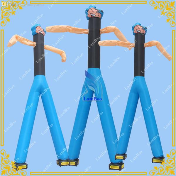 Danse Popeye Air gonflable gonflable avec 2 souffleurs gratuits, Sky Dancer pour événements