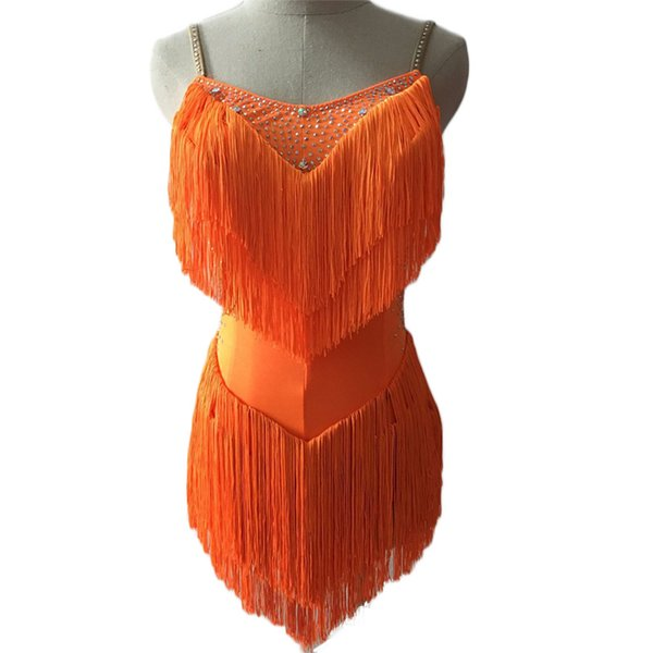 만 오렌지 드레스
