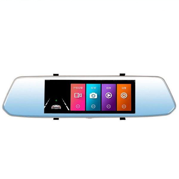7 pollici 2.5D 140 gradi angolo videocamera dell'automobile DVR veicolo auto registratore G-Sensore di visione notturna Dash Cam