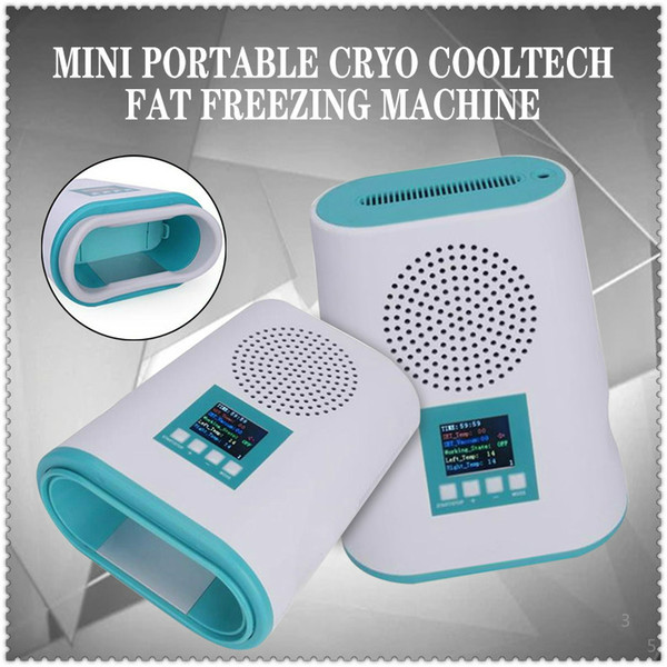 2020 Mini cryolipolysis fat freezing slimming machine Skin lifting cryotherapy fat freeze body Shape Equipment for home use free delivery