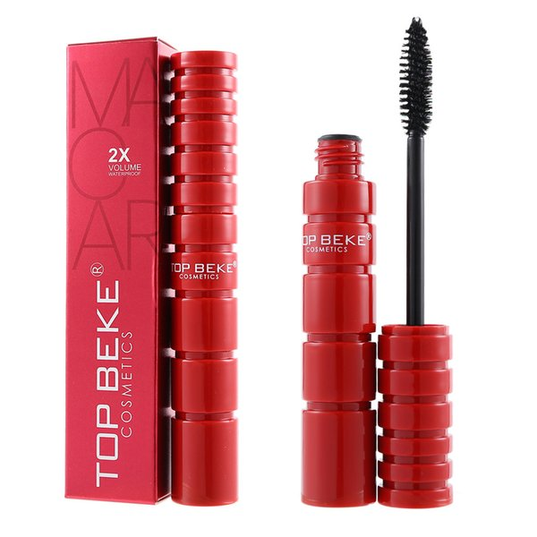 2019 Hot Sale Makeup Long Lasting Eye lash 10ML Black Waterproof Volumizing 4D Silk Fiber EyeLash Mascara