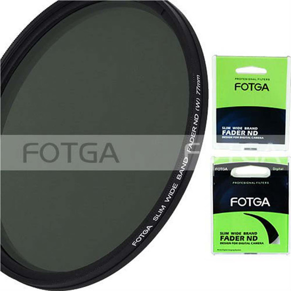 Consumer Electronics FOTGA Slim Fader Variable Adjustable Variable filter ND2 to ND400 43~86mm 52 58 67 72 77 mm