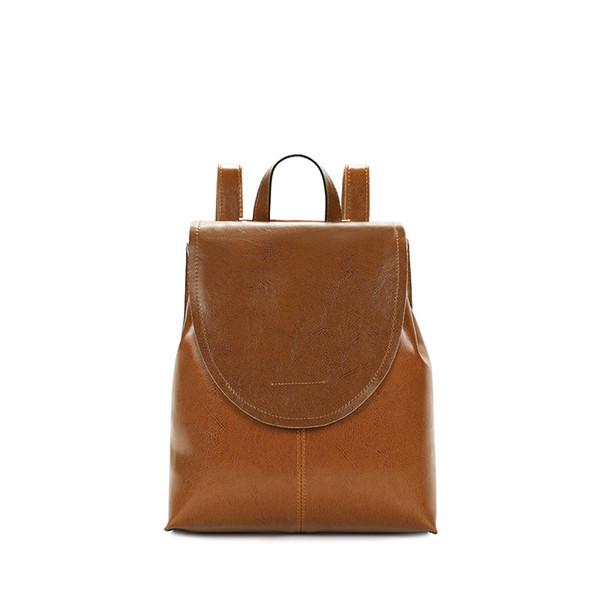 Backpacks Woman 2019 female leather backpack women's backpacks New fashion casual women's bag travel backpack