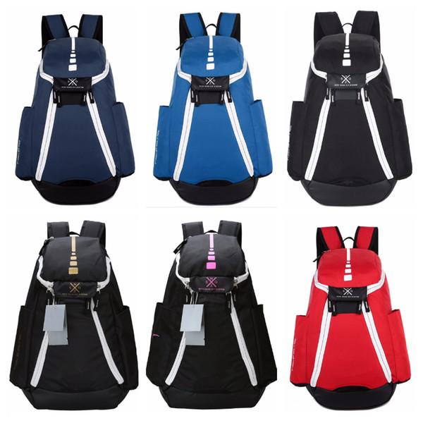 Luxury N Unisex Backpacks Large Capacity Travel Knapsack Student Schoolbags Boys Basketball Backpack Waterproof Stuff Sacks