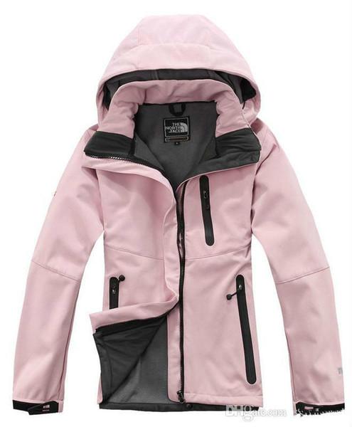 Vente chaude Nord Femmes Denali Apex Bionic Vestes En Plein Air Casual SoftShell Chaud Imperméable Coupe-Vent Respirant Ski Face Manteau WomeN