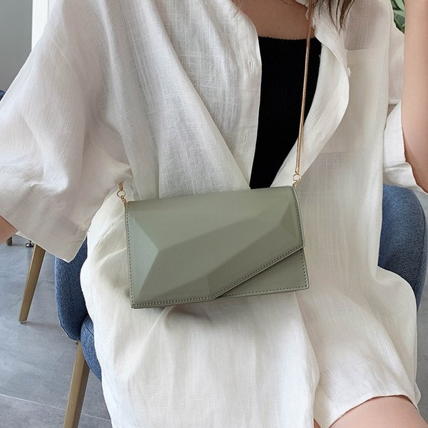 Küçük Kadınlar Için Suqare Çanta 2019 Lüks Çanta Kadın Çanta Tasarımcısı Basit Çantalar Siyah Beyaz Bayanlar Omuz Messenger