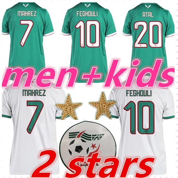 best selling algeria jersey mens designer t shirts kids 2019 2020 football kits MAHREZ BRAHIMI Algeria soccer jerseys football shirt maillot de foot