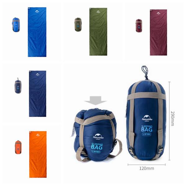 Mini ultraligero multifunción portátil al aire libre sobre saco de dormir bolsa de viaje senderismo equipo de camping 680g 5 colores ZZA329