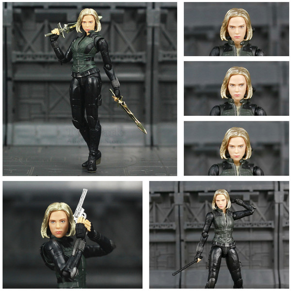 2019 Marvel Avengers Infinity War Black Widow 6 Movie Action Figure Endgame Scarlett Johansson Legends Doll Ko S Shf Toys Sh190911 From Hai05 26 21