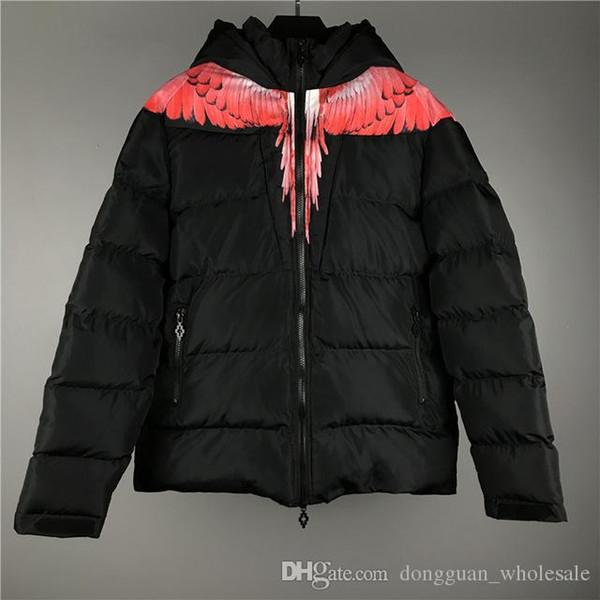 Marcelo Burlon Jacket Men Women 1m:1 High Quality Italy County Of Milan Fashion MB Coat Hip Hop Wing Marcelo Burlon Jacket