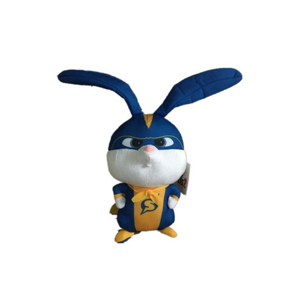 Чучело Плюшевые игрушки 10 дюймов Super Soft Fabric Кролик Кролик Мягкая игрушка с Прохладный плащ Детские игрушки