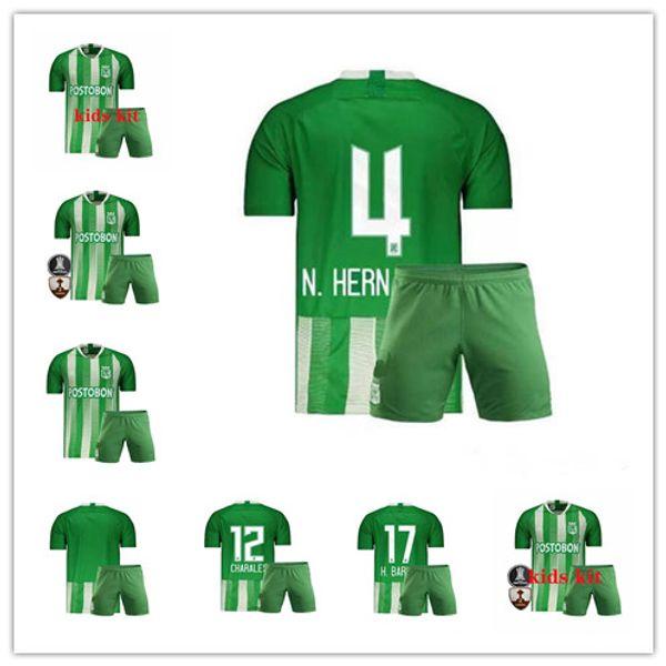 4d04f8d817a48 201.2020 Atlético Nacional Medellin Kids Soccer Jersey H.BARCOS Colombia  Club Medellin green niño Fútbol