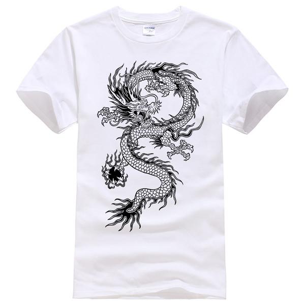 2017 Summer New men women brand t-shirt Fashion Dragon printing cool t shirt Plus size short sleeves t shirt men #094