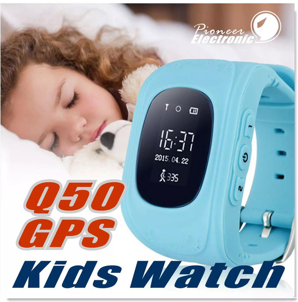 Q50 Kids Smart Watch SmartWatch LBS Местоположение Сейф Детские часы Activity Tracker Карта SOS для Android и Apple IOS