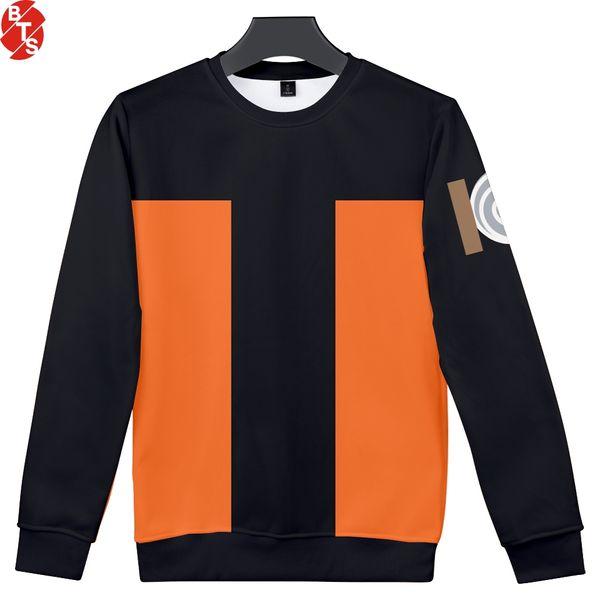 Naruto 3D Printed O-Neck Sweatshirts 2018 Hot Sale Women/Men Fashion Long Sleeve Sweatshirts Anime Casual Streetwear Clothes
