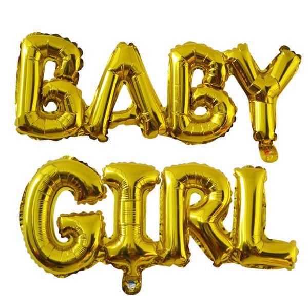B63 Baby girl gold