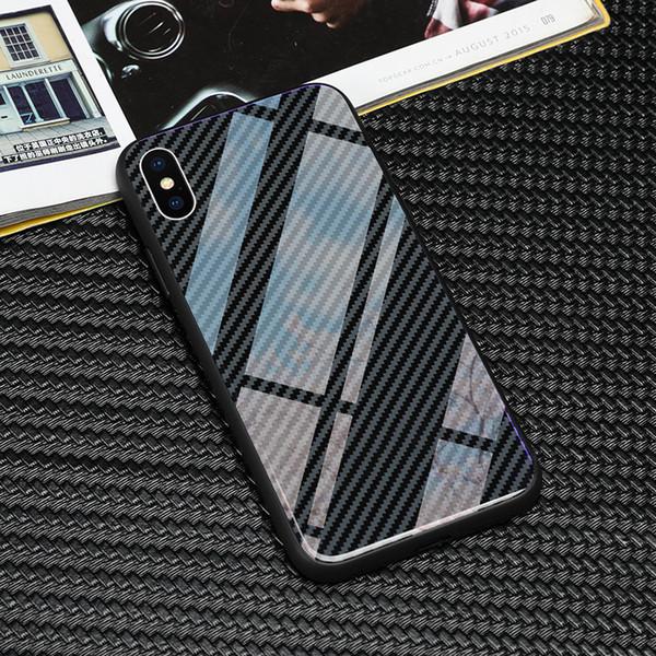 Lüks Tpu + temperli Cam Rs6 Logo Telefon Kılıfı Için Samsung Galaxy S8 S9 S10 Artı Not 8 9 Kılıfları T190710