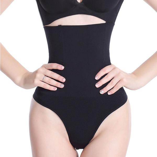 Shaper Body Slimming High Waist Firm Control Thong Butt Lifter Panties Shapewear Slim Belts for Women Corset Waist Trainer