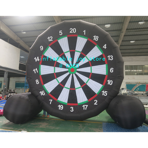 best selling 5m 17ft Inflatable Soccer Dart Board Game for sale, Cheap Inflatable Football dart Soccer Dart Board