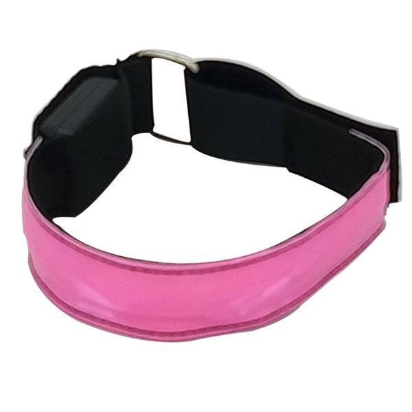 4 Stücke LED Armband Elastische Nachtlauf Glow Sports Safty Gürtel Knöchel Radfahren Einstellbare Jogging Reflektierende Streifen Armband