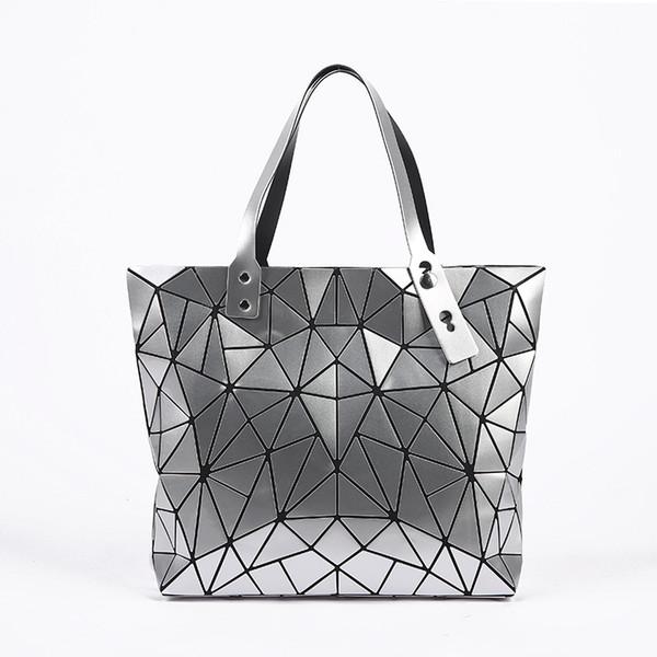 a3b739c75b1 2018 Nieuwe Mode Schoudertassen Bag Handtas Vrouwelijke Gevouwen  Geometrische Plaid Casual Tote Pu Tas Mochila