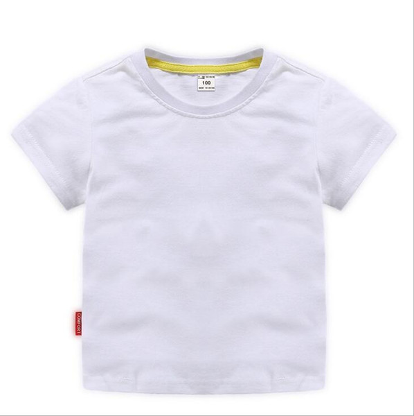 2019 New Hot designer Kids Shirts brand 2-8T years old Baby boys girls T-shirts r shirt Tops cotton children Tees kids Clothing 2 colors A