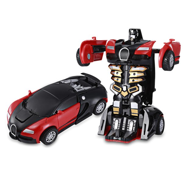 heap Diecasts & Vehicles Hot Sales One Step Impact Deformation Car Mini Transformation Robot Toy Two Cool Appearances Fine Workmansh...