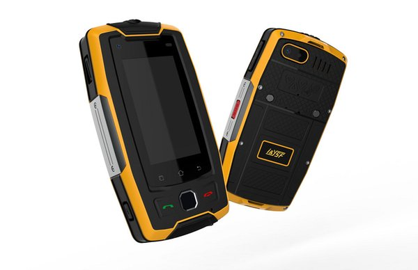 "2.45"" Rugged Phone 4G LTE India 16GB Quad-Core Unlocked Android Smartphone Waterproof NFC Wifi GPS Fingerprint Torch PTT FM BT SOS Cellphone"