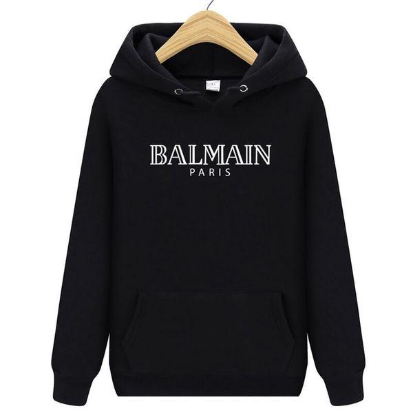 Mode Balmain Männer Sweatshirt Mäntel erweiterte Jacke Longline Hip Hop Streetwear schlanke Frauen Justin Bieber Kleidung Rock T-Shirt Oberbekleidung
