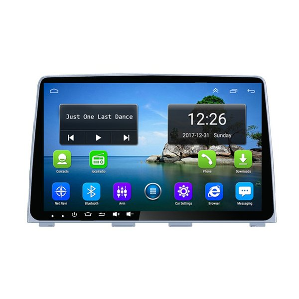 Android 4G LTE car excellent bluetoooth free map precise GPS navigation MP3 MP4 MUSIC player for Hyundai New sonata 2018-2019 9inch