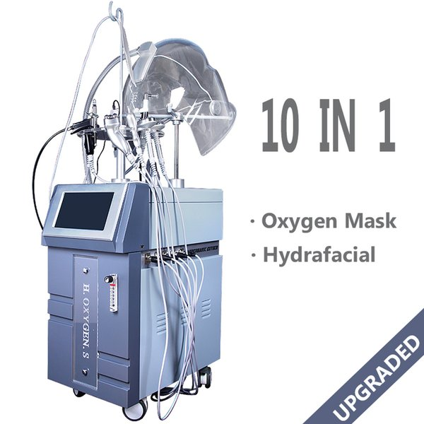 2019 High end Hydra Facial Machine Hydro Facial Care Oxygen Jet Skin Tightening Spa Salon use Hydrafacial Machine