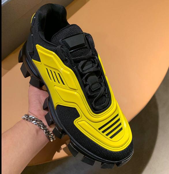 Новый мужской Cloudbust Thunder вязать кроссовки Роскошные дизайнерские туфли 2EG293_3KZU_F0IAN