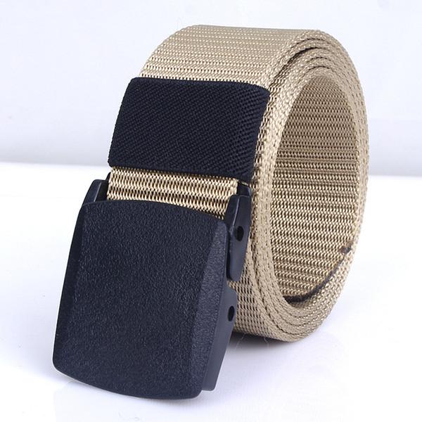 Tactical Belt Army Special Forces Belt Men Metal Free Buckle Combat Belts