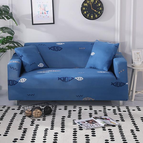 Motifs géométriques Canapé Couverture Coton Stretch Couch Couverture Élastique Couvertures De Canapé pour Salon Slipcovers Fauteuil Meubles