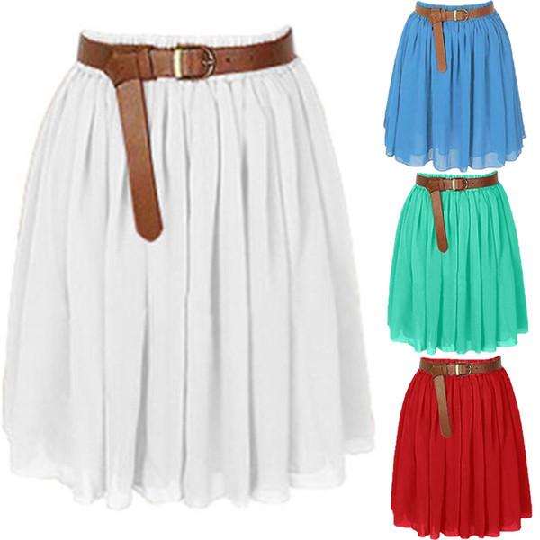 8c2fa172fa 2019 Nuevo verano Faldas de tul Moda Para Mujer Estrella Brillante Malla  Tutu Falda Faldas Plisadas
