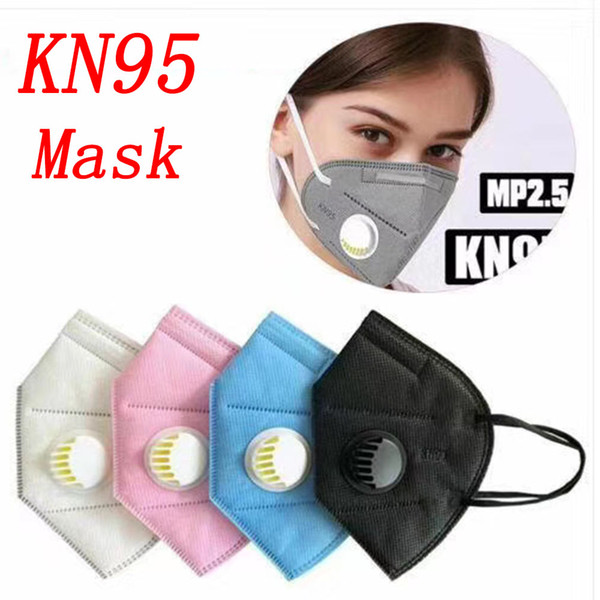 kn95 face masks activated carbon mask filter respirator n95 protect mouth face mask protective anti-bacterial mascherine ffp2 ffp3