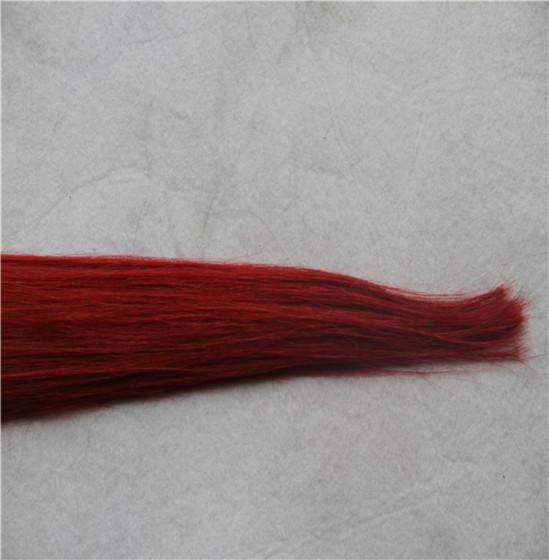 Wine Red Color Micro Loop Ring Extensions Straight 100% Human Remy Hair Weave 10-30 Inchs Unprocessed Virgin Hair