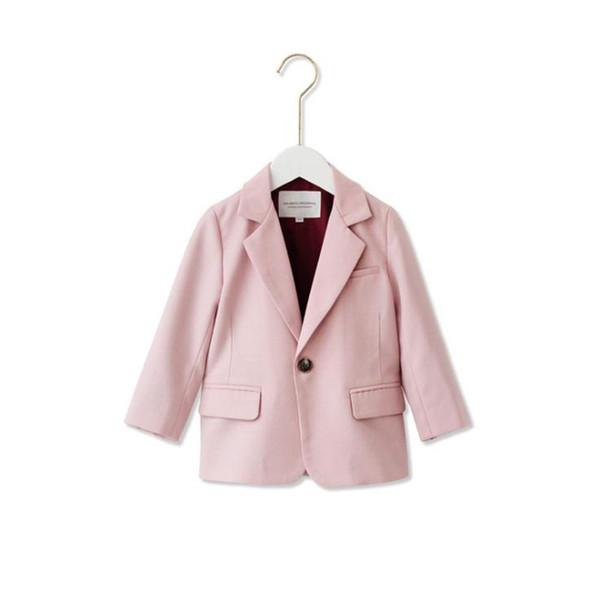 huge discount 37eb6 7f9a9 Großhandel Frühling Wollmantel Baby Mädchen Kleidung Baby Mädchen  Wollmantel Überlegene Qualität Kinder Rosa Anzug Doppelseitigen Wollmantel.  Von ...