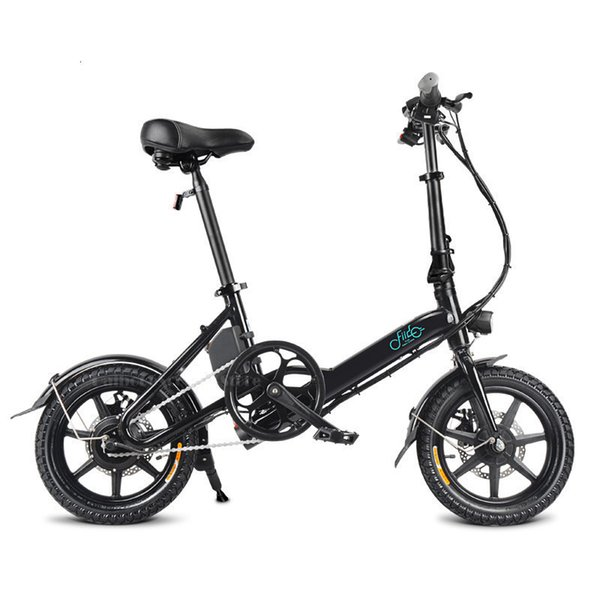 top popular Fiido D3 Mini Electric Bike Two Wheels Electric Bicycle 14 Inch 36V 250W Adults Portable Foldable Electric Bicycle With Seat 2020