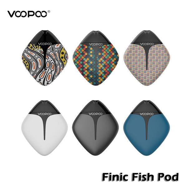 VOOPOO FINIC Fish Pod-Kit mit 1,7-ml-Tintenpatrone in 350mAh-Akku eingebautes GENE-Chip-Pod-System mit Vape-Gerät 100% authentisch