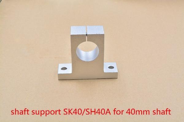 SK40 40мм подшипник опорный вал для 40mm круглый стержень вала поддержка XYZ таблице маршрутизатора CNC SH40A
