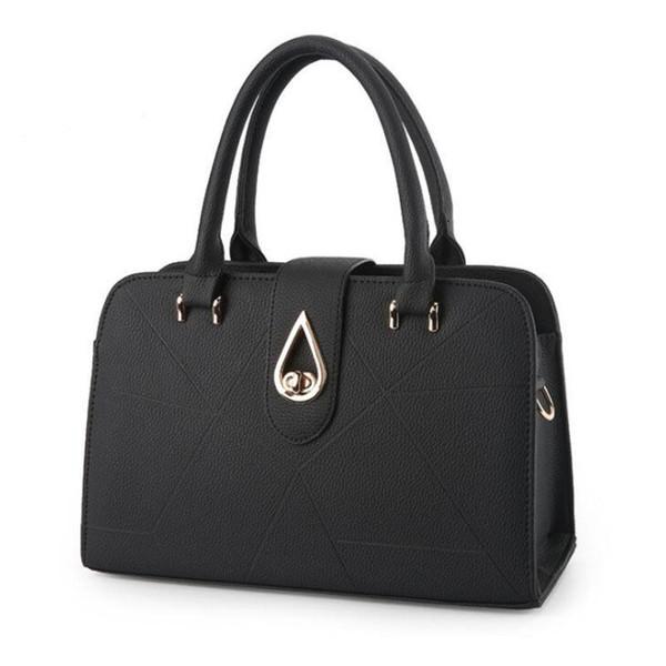 Goood quality Women Bag 2019 New Women Messenger Bag Casual Mujer Pu Bolsos de cuero Lady Crossbody Bolsos de hombro Mujer Tote