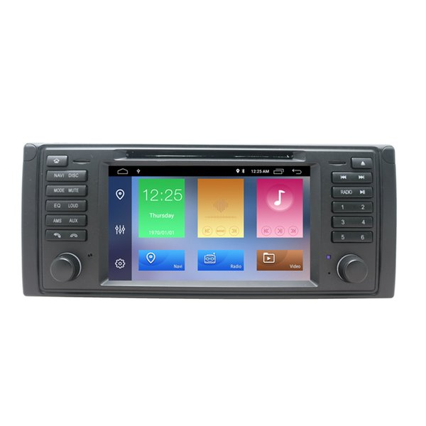 DSP Chip Android 9.0 Car DVD Radio Stereo Multimedia Player for BMW E39 With BT Wifi Radio GPS Navigation 7'' IPS Screen Car Head Unit