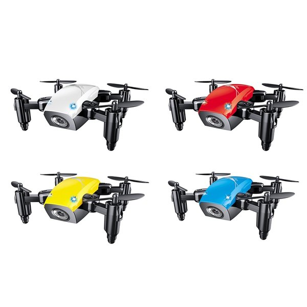 S9HW Mini Drone With Camera HD S9 No Camera Foldable RC Quadcopter Altitude Hold Helicopter WiFi FPV Micro Pocket Drone (Retail)